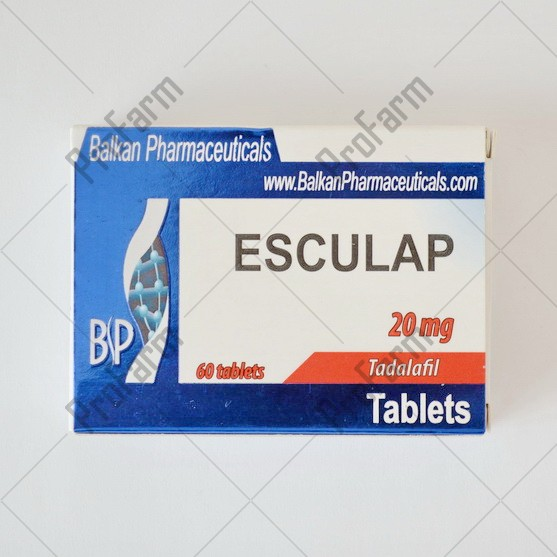 Esculap 20мг\таб - цена за 20 таблеток