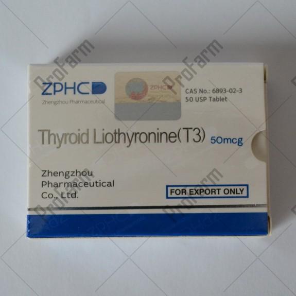 Thyroid Liothyronine (T3) 50mcg/tab - цена за 25 таблеток.