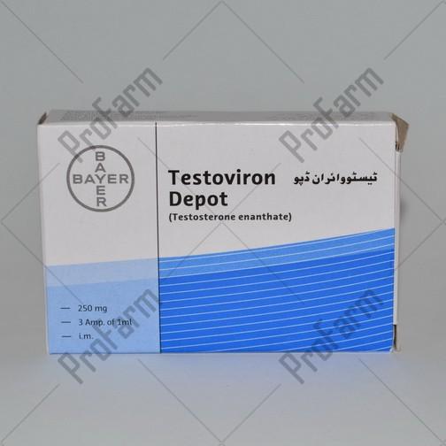 Testoviron Depot 250mg/ml - цена за 1 ампулу 1мл.