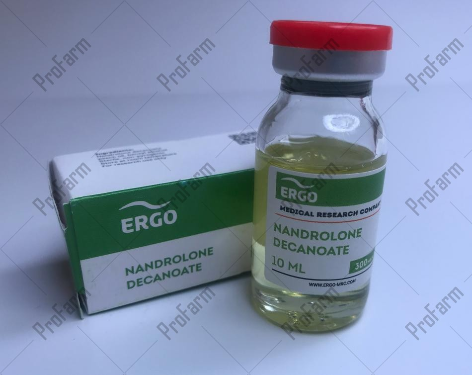 ERGO NANDROLONE D 300MG/ML - ЦЕНА ЗА 10МЛ