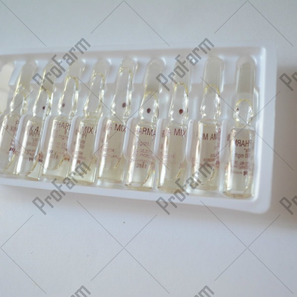 Pharma Mix4, 600mg/ml - цена за 1 ампулу.