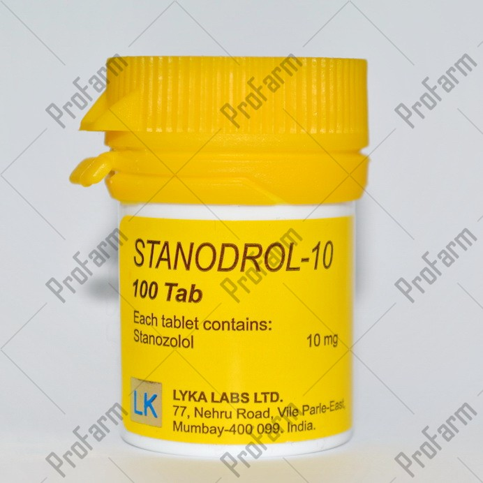 Stanodrol-10 10мг\таб - цена за 100таб.
