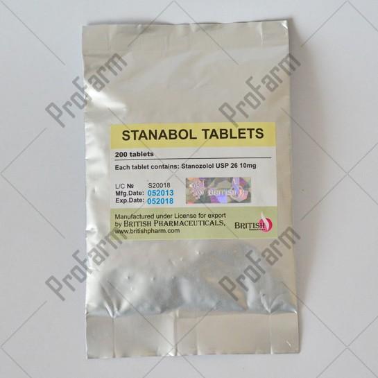 Stanabol Tablets 200tab, 10mg/tab