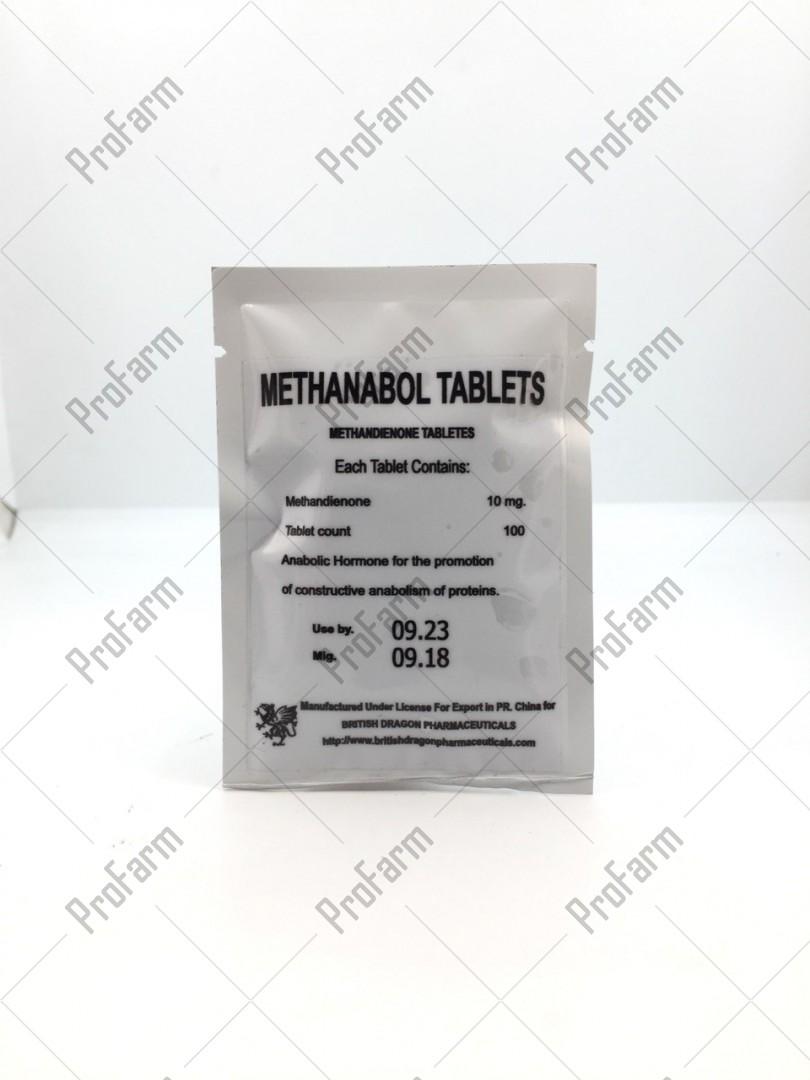 Methandienone Tablets 10мг\таб  - цена за 100таб.