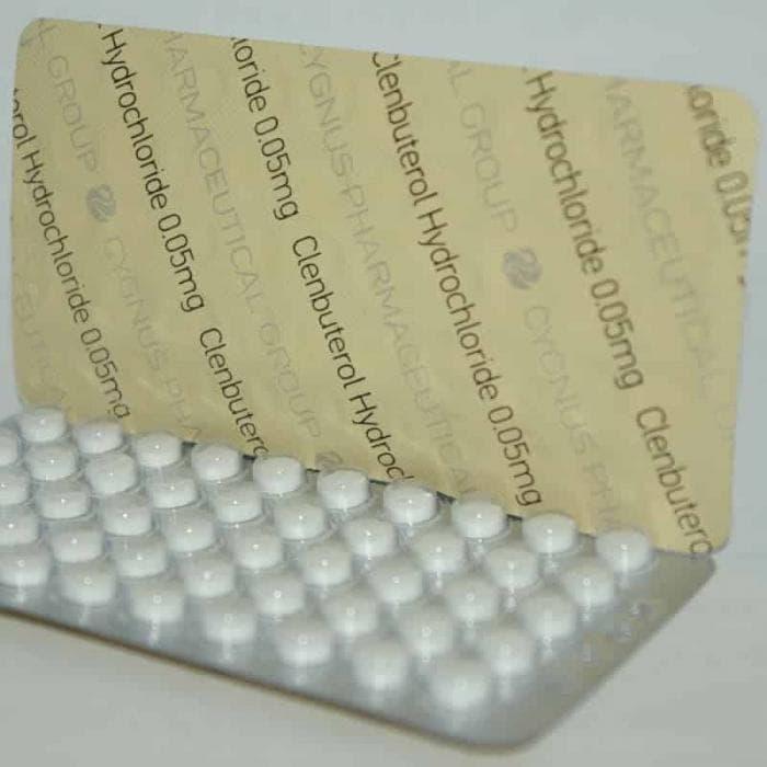 Clenbuterol CYGNUS 50mcg/tab - ЦЕНА ЗА 50ТАБ