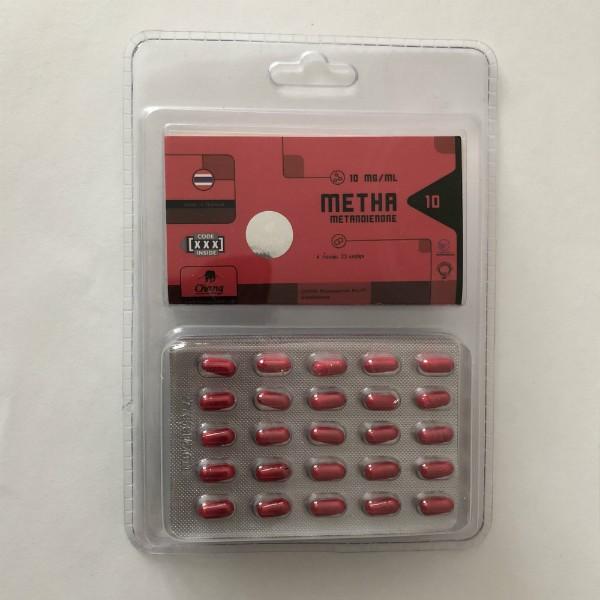 Metha 10, 10mg/caps - цена за 100 капсул.