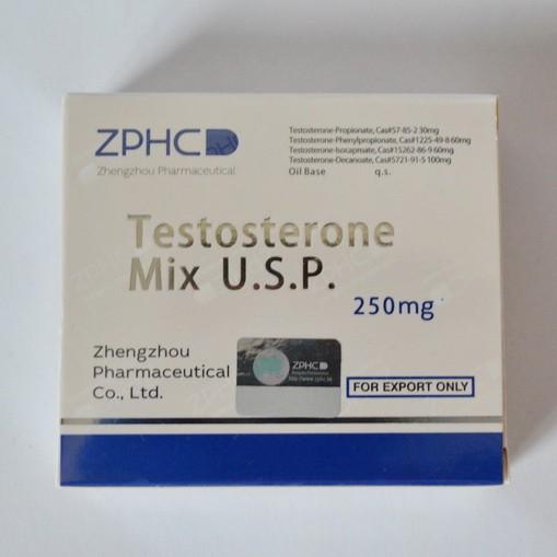 Testosterone Mix 250mg/ml - цена за 1 ампулу 1мл.