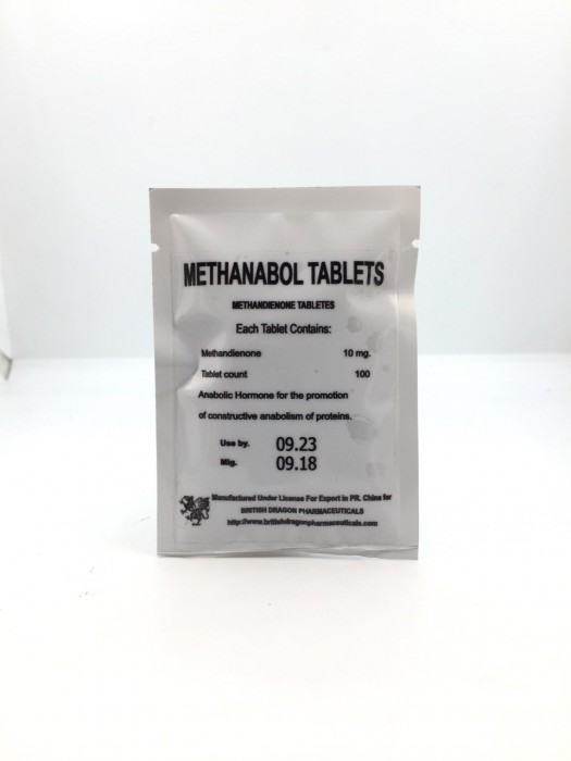 Methanabol Tablets 10мг\таб  - цена за 100таб.